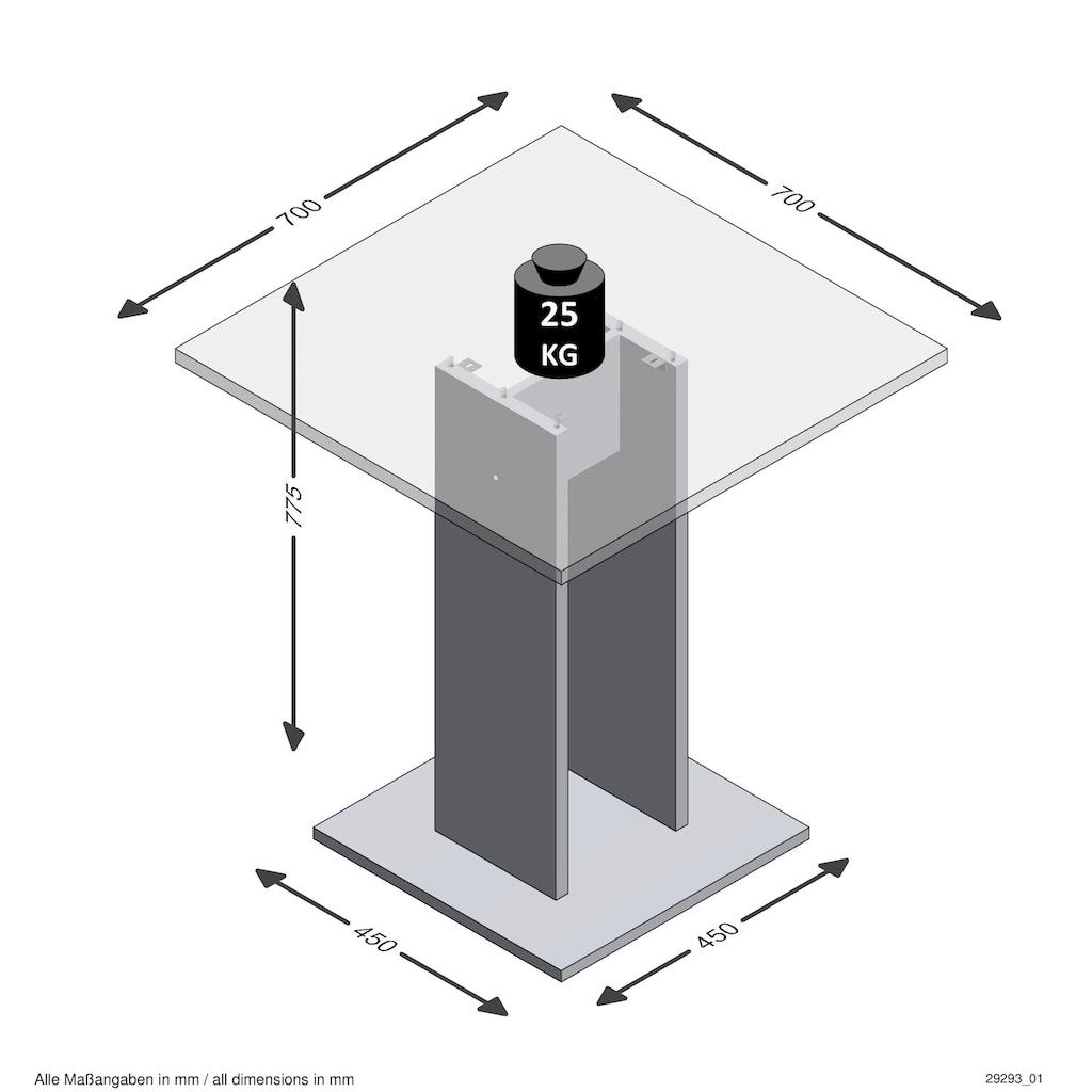 FMD Esstisch, Breite 70 cm