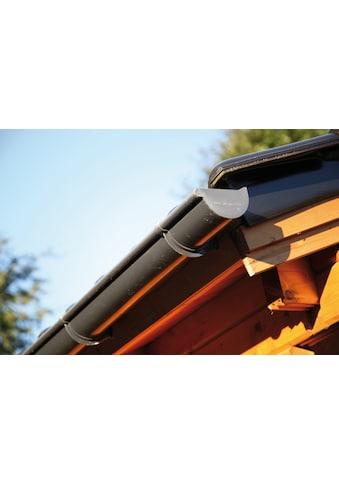 Wolff Dachrinne »421Bx«, Kunststoff anthrazit, 350 cm kaufen