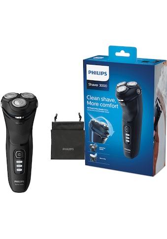 Philips Elektrorasierer »Series 3000 S3233/52«, ausklappbarer Langhaarschneider, mit... kaufen