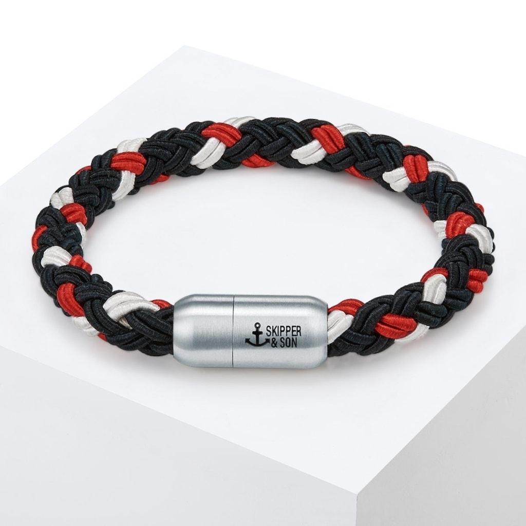 Skipper & Son Armband »X420«, (1 tlg.), aus Segeltau