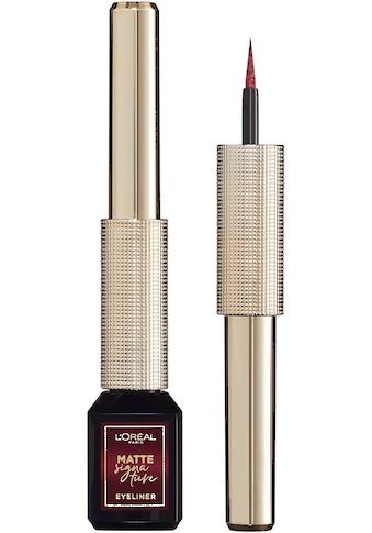 L'ORÉAL PARIS Eyeliner »Matte Signature Eyeliner« kaufen