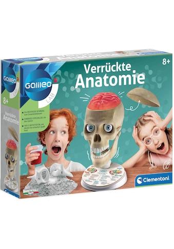 Clementoni® Experimentierkasten »Galileo Verrückte Anatomie« kaufen