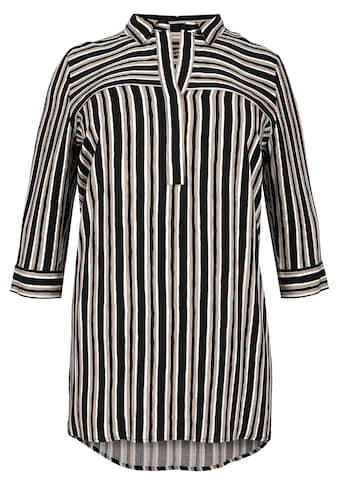 VIA APPIA DUE Stylische Bluse mit Streifen - Mix kaufen