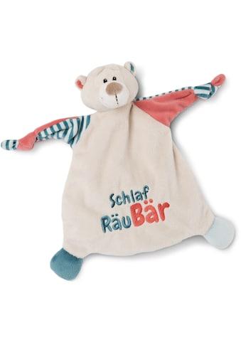 Nici Schmusetuch »My first NICI Kollektion, Bär, Schlaf RäuBär«, mit aufgestickten Augen kaufen