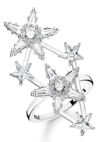 THOMAS SABO Silberring »Sterne, TR2272 - 051 - 14 - 50, 52, 54, 56, 58, 60« kaufen