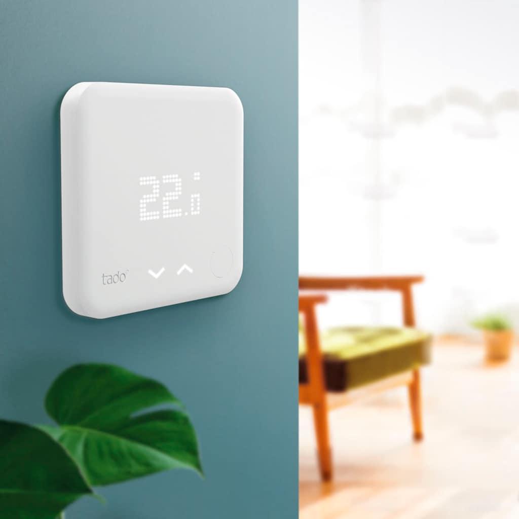 Tado Smartes Heizkörperthermostat »Funk-Temperatursensor, Zusatzprodukt für Smarte Heizkörper-Thermostate«