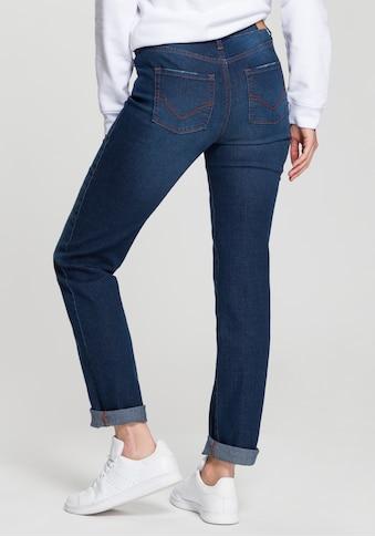 H.I.S Straight-Jeans »High-Waist«, Nachhaltige, wassersparende Produktion durch OZON WASH kaufen
