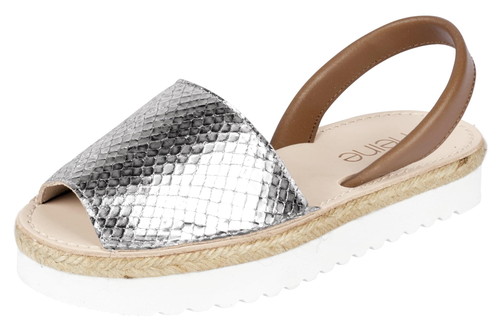 Heine Sandalette Sandalette Sandalette mit Snake-Skin-Look  online kaufen | Gutes Preis-Leistungs-Verhältnis, es lohnt sich d4563f