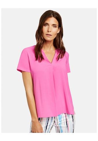 GERRY WEBER Bluse 1/2 Arm »1/2 Arm Bluse mit Tropfenausschnitt« kaufen