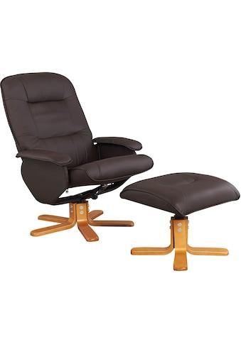 Home affaire Relaxsessel »Nice«, mit Hocker kaufen