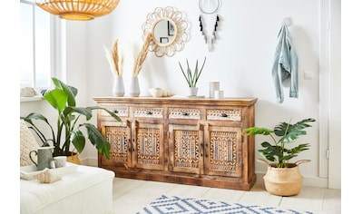 Home affaire Sideboard »Maneesh«, aus massivem Mangoholz, mit vielen... kaufen