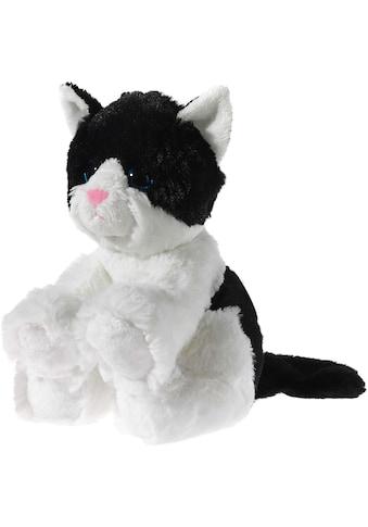 Heunec® Kuscheltier »Glitter Kitty Katzenbaby Schwarz-Weiß, 24 cm« kaufen