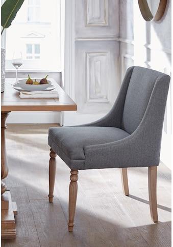 Guido Maria Kretschmer Home&Living 4-Fußstuhl »Davit«, mit schöner Sitzpolsterung und... kaufen