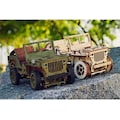 Wooden City Modellbausatz »Jeep 4x4«, aus Holz; Made in Europe