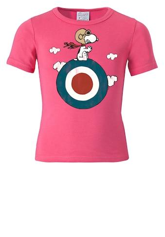 LOGOSHIRT T-Shirt »Snoopy - Target«, mit lizenziertem Originaldesign kaufen