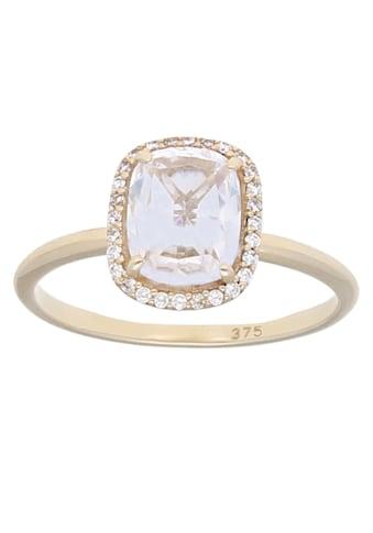 Firetti Goldring »glänzend«, mit Zirkonia kaufen