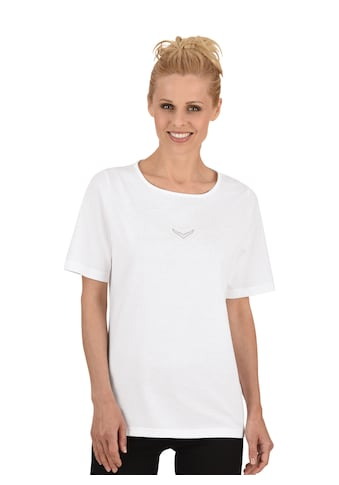 Trigema T-Shirt DELUXE Baumwolle mit Swarovski® Kristallen kaufen