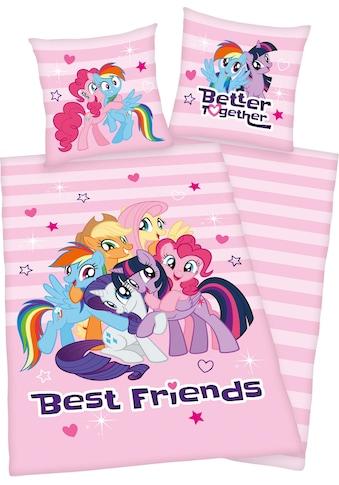 Kinderbettwäsche »Best Friends«, mit niedlichen Motiv kaufen
