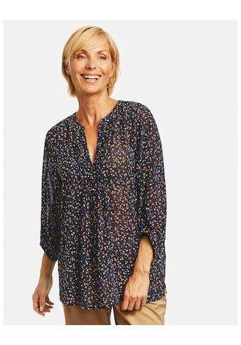 GERRY WEBER Klassische Bluse »Tunika mit Milles Fleurs Print« kaufen