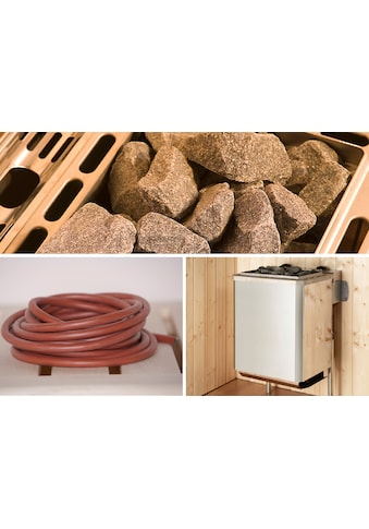 WEKA Set: Saunaofen »Kompakt«, 9 kW, integrierte Steuerung, inkl. Zubehör kaufen