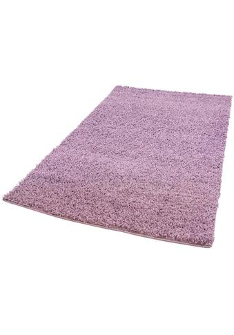 Carpet City Hochflor-Teppich »Pastell Shaggy300«, rechteckig, 30 mm Höhe, pastell... kaufen
