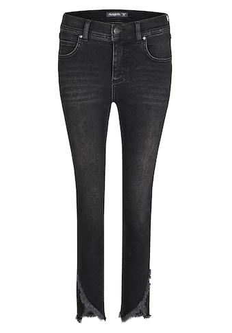 ANGELS Ankle-Jeans, mit gefransten Beinabschlüssen kaufen