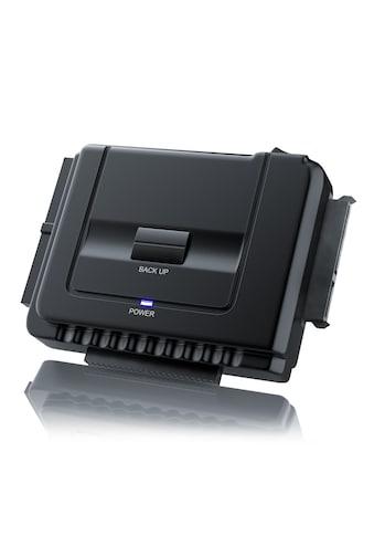 Aplic USB 3.0 zu SATA / IDE Festplatten Adapter »für SATA / IDE Festplatten & CD / DVD Laufwerke« kaufen