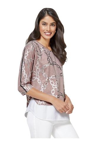Inspirationen Longshirt im beliebten Lagen - Look kaufen