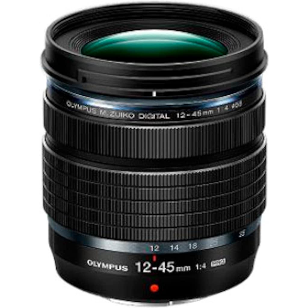 Olympus Zoomobjektiv »M.Zuiko Digital ED 12‑45mm F4 PRO«, inkl. Gegenlichtblende