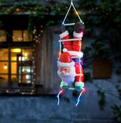 Weihnachtsmann für Deko im Außenbereich