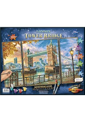 Schipper Malen nach Zahlen »Meisterklasse Triptychon, London - Tower Bridge«, Made in... kaufen