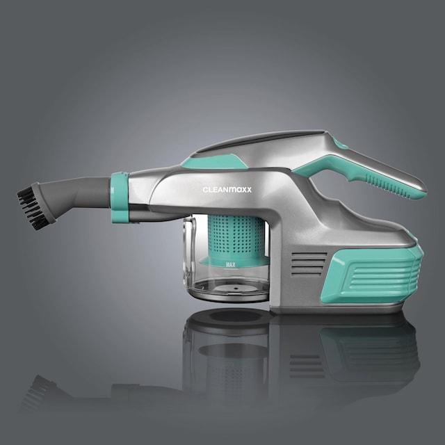 CLEANmaxx Akku-Hand-und Stielstaubsauger 2.0 14,8V türkis/grau, 150 Watt, beutellos