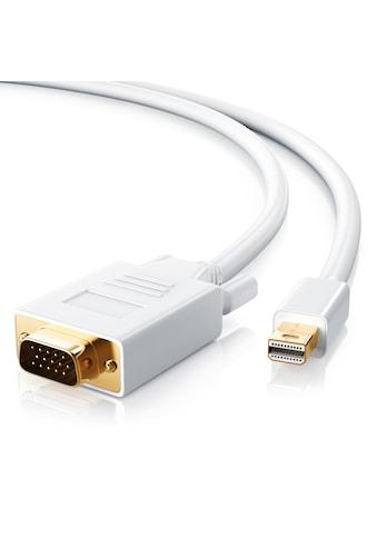 CSL Video-Kabel »mini DP zu VGA / Thunderbolt 1 & 2 kompatibel«, 300 cm kaufen