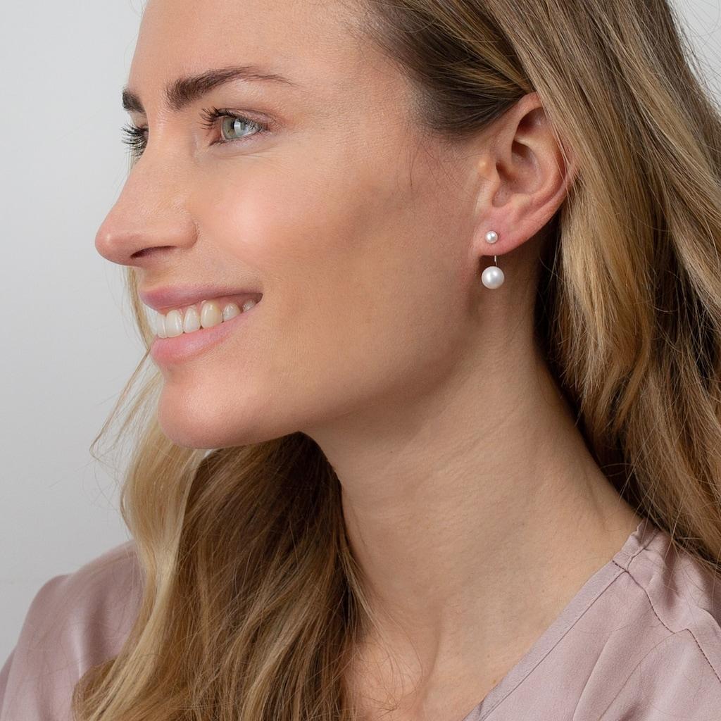 AILORIA Paar Ohrhänger »MEGUMI Ohrringe«, mit Süßwasserzuchtperlen