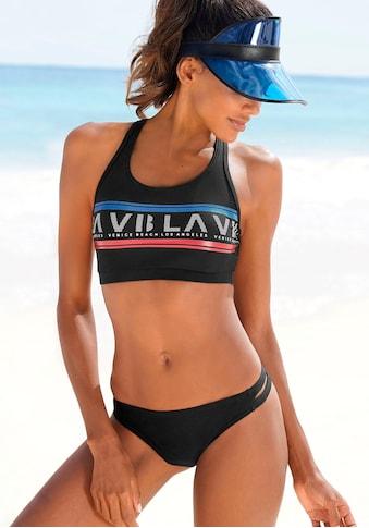 Venice Beach Bustier-Bikini, Mit Logodruck kaufen