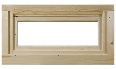 WOLFF FINNHAUS Fenster »A42 - 15K/28«, Kippfunktion, BxH: 92,5x45 cm kaufen