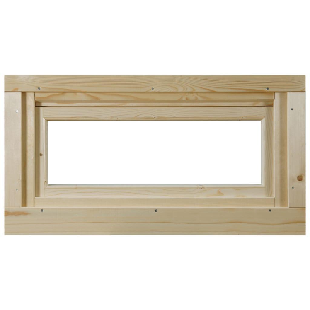 WOLFF FINNHAUS Fenster »A42-15K/28«, Kippfunktion, BxH: 92,5x45 cm