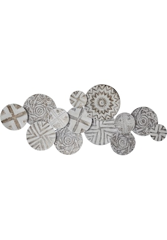 Home affaire Wanddekoobjekt, Wanddeko, aus Metall, im Ethno-Look kaufen