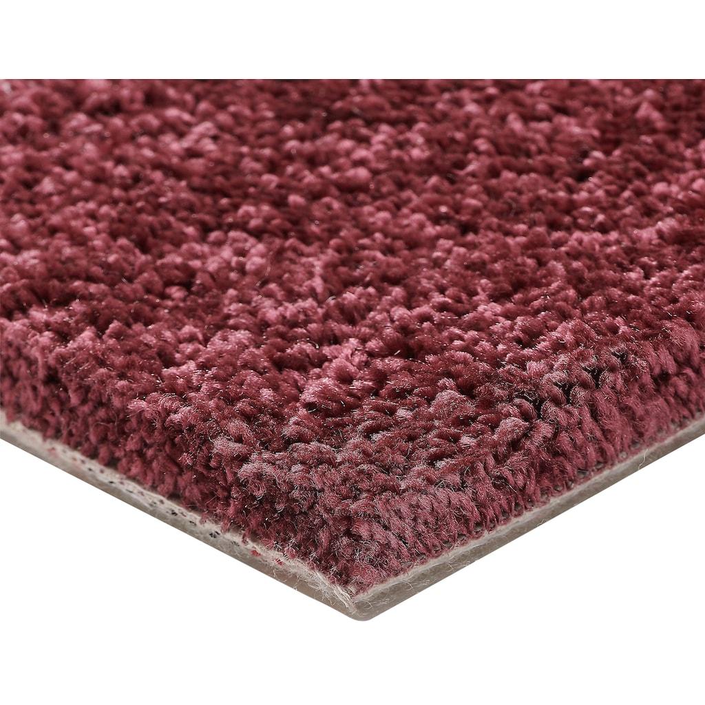 Bodenmeister Teppichboden »Hochflor Velours«, rechteckig, 14 mm Höhe, Meterware, Breite 400 cm, uni, Wunschmaß