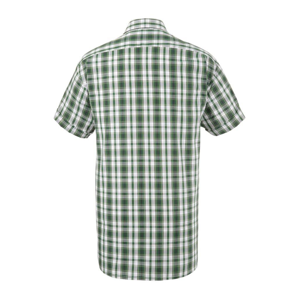 OS-Trachten Trachtenhemd, im modischem Karodesign