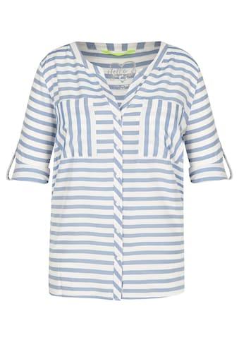 VIA APPIA DUE Modische Bluse mit Streifendesign kaufen