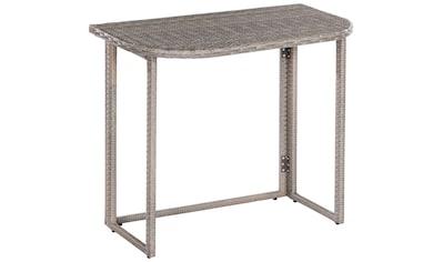 MERXX Gartentisch »Klapptisch für Eckbank« kaufen