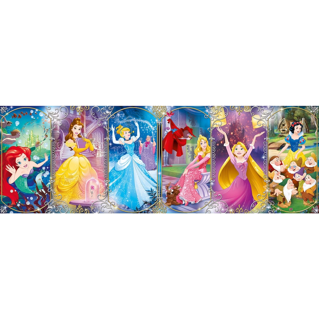 Clementoni® Puzzle »Panorama High Quality Collection - Disney Princess«, Made in Europe