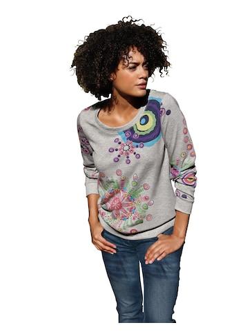 Inspirationen Shirt mit farbenfrohen Druck - Dessin kaufen