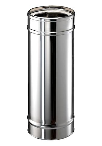 ZICKWOLFF Edelstahl - Schornstein Rohrelement, 15 cm Innendurchmesser kaufen