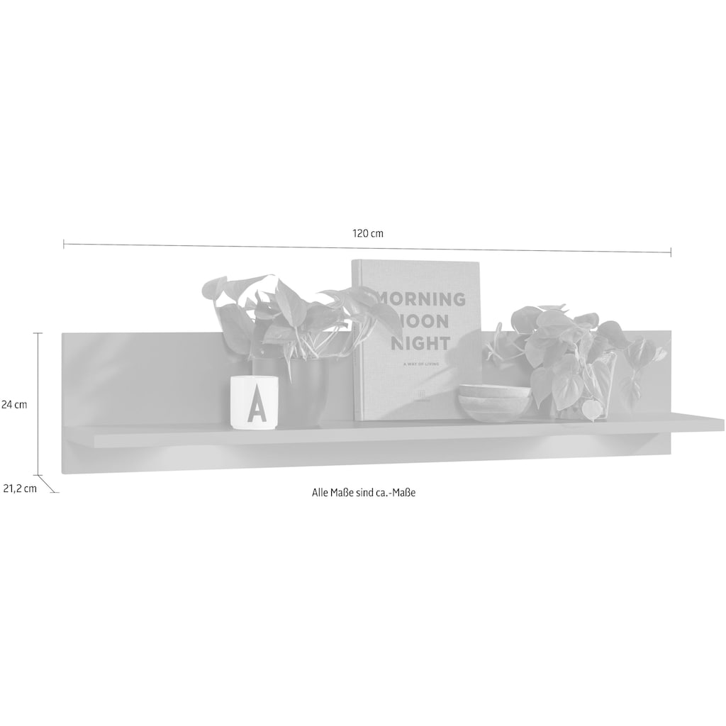 set one by Musterring Garderobenpaneel »TACOMA«, Typ 41, 120 cm
