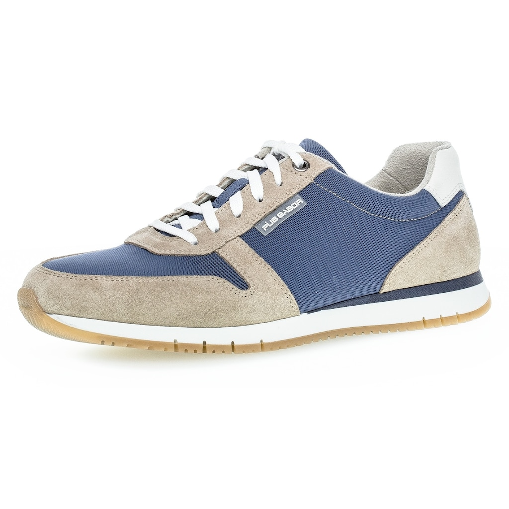 Pius Gabor Sneaker, im Material Mix