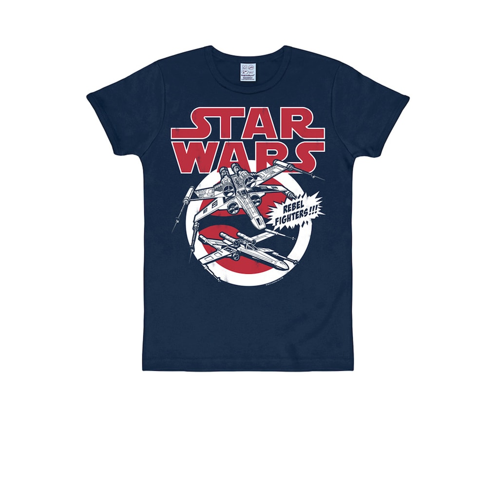 LOGOSHIRT T-Shirt mit großem Retro-Print