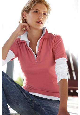 Poloshirt Langarm kaufen