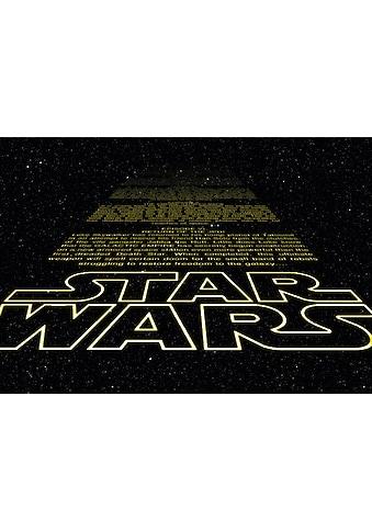 Komar Fototapete »Star Wars Intro«, bedruckt-Comic, ausgezeichnet lichtbeständig kaufen